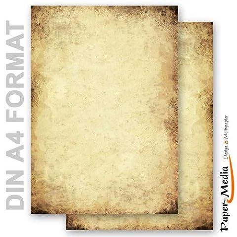 Papier A Lettre Correspondance - Paper-media lot de 50 feuilles de paPIER