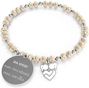 10 Buoni Propositi Bracciale Donna Gioielli Crystal Trendy cod. B5260/CH