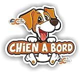 Sticker Chien à Bord - Autocollant - Chien Club canin (Chien à Bord)
