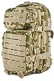 Camouflage Militaire Armée Sac à dos US assault pack 20L MOLLE Camo Tropical