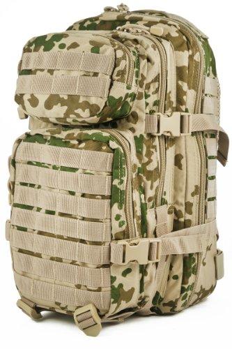 Camouflage Militaire Armée Sac à dos US assault pack 20L MOLLE Camo Tropical 8c0c3b9c9f