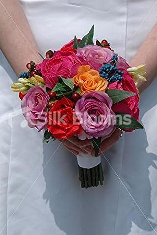 Belle rose et orange rose mariage demoiselle d
