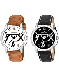 Ravinson 35223512SL New Combo Leather Strap Casual Analog Watch For Men