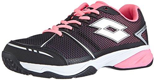 Lotto Sport Viper Ultra W, Scarpe da Tennis Donna, Multicolore (Mehrfarbig (Black/FL Pink), 41 EU