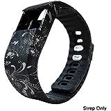 Fbandz ™ TW64 Fitness Band Smart Health Bracelet Bluetooth Wristband Fashionable Activity Tracker