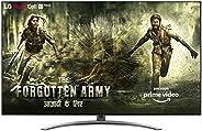 LG 189 cm (75 inches) 4K UHD Smart Nano-cell TV 75SM9400PTA (Ceramic BK + Dark Steel Silver) (2019 Model)