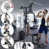 Physionics® Home Multi Gym | Full Body Workout, Arms/Shoulders/Chest/Abdomen/Back & Legs Training, Max