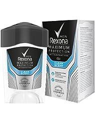 Rexona Men Deo Cremestick Maximum Protection Clean Scent Anti-Transpirant, 1er Pack (1 x 45 ml)