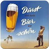Nostalgic-Art 46129 Bier und Spirituosen Durst, Untersetzer