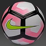 Nike Pitch Ball, White/Pink Blast/Volt, 5