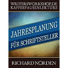 Jahresplanung für Schriftsteller