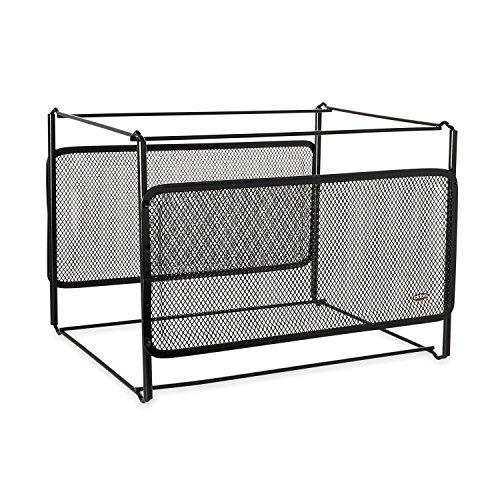 Rolodex Mesh Collection Jumbo Papier Clip Halter, schwarz (62562) Feilenrahmenhalter 1 Stück - Rack Wire Frame