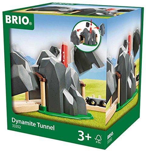 Brio - Túnel para tren con dinamita (33352)