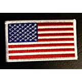 Ejército de Estados Unidos Flag Patch '8.2 x 5.0 cm' - Parche Parches Termoadhesivos Parche Bordado Parches Bordados Parches Para La Ropa Parches La Ropa Termoadhesivo Apliques Iron on Patch Iron-On Apliques