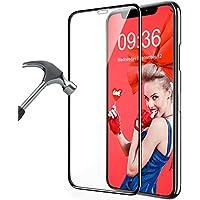 MATONE Verre Trempé iPhone XS Max, [3D Couverture Complète] [Dureté 9H] [Ultra Clair] [sans Bulles d'air] Anti-Rayures Protection Écran Vitre pour iPhone XS Max [6.5 Pouces] 2018
