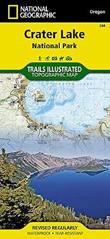 Crater Lake National Park : Trails Illustrated National Parks (National