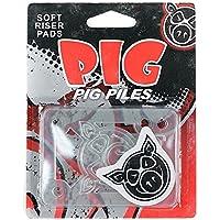 Pig Piles elevadores para monopatín suaves almohadillas de choque clara