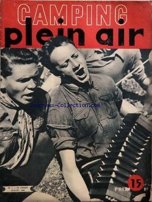 CAMPING PLEIN AIR [No 1] du 01/07/1945
