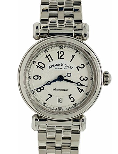 Armand Nicolet Arc Royale 9420A-AG-M9430 Automatic Watch Stainless Steel Swiss Made Silver