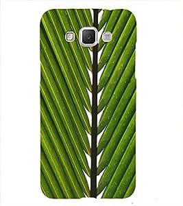 Leaf Back Case Cover for Samsung Galaxy J7::Samsung Galaxy J7 J700F