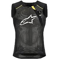 Alpinestars–Paragon Body Armour–Chaleco, Color Negro/Amarillo, otoño/Invierno, Hombre, Color Negro y Amarillo, tamaño Extra-Small
