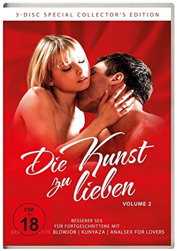 Die Kunst zu lieben Volume 2 - Besserer Sex für Fortgeschrittene [3 DVDs]