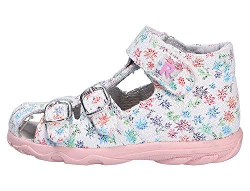 Richter Kinderschuhe Terrino, Chaussures Marche Bébé Fille Weiß