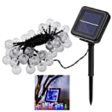 Descripton  Adoption of high quality material, the string lights are durable and excellent in waterproof performance. With 3D stereoscopic transparent light beads, it is great for Halloween, Christmas, holiday, party, landscape or garden decoration. ...