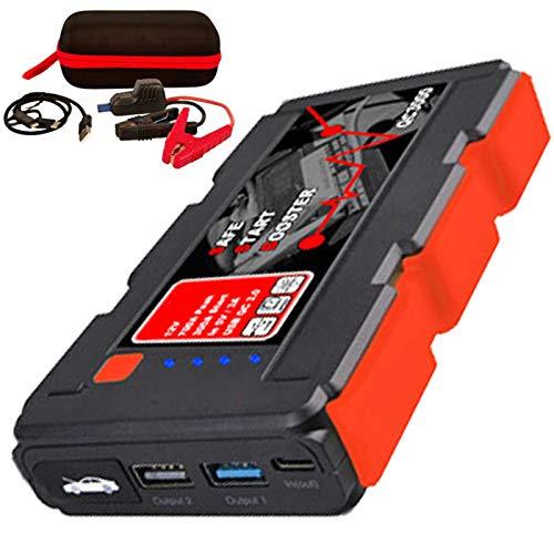 AccuCell Neu QC3000 Jumpstarter, der kompakte KFZ-Starthilfe-Powerakku mit Powerbank- und Taschenlampenfunktion