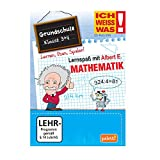 Ich weiss was! Lernspaß mit Albert E.: Mathematik - Grundschule 3 + 4 CD ROM