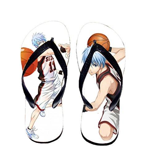 Bromeo Kuroko No Basuke Anime Unisex Flip Flops Zehentrenner Flip Pantoffeln 434