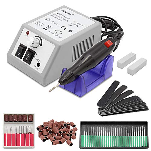 Hengda 10W Nail Studio Nailer 14000 tr / min Régulateur Stepless Set cutter Manucure 230v Pedicure...