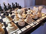 ChessEbook Schachspiel aus Holz PEARL LARGE 42 x 42 cm