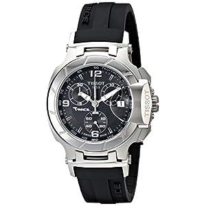 Reloj cronógrafo mujer Tissot T0482171705700, suizo, de 37mm, banda