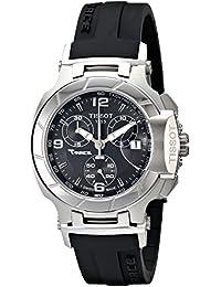 Tissot Damen-Armbanduhr T-Race Chronograph Quarz Kautschuk T048.217.17.057.00