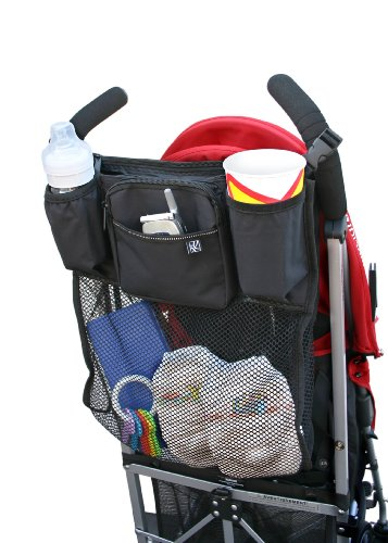 jl-childress-cups-n-cargo-stroller-organiser-black
