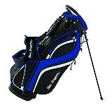 Ben Sayers DLX, Borsa con Supporto, per Golf Unisex, Black/Blue, 8.5-inch