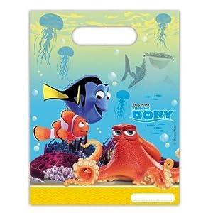 Disney 48399 Buscando a Dory Decoración Bolsas de Fiesta