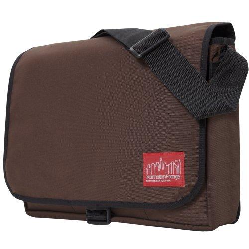 Manhattan Portage Deluxe Computer, Unisex-Erwachsene Laptoptasche, 38.10 cm Braun Dunkelbraun - Manhattan Portage Tasche