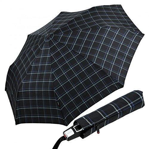 knirps-ombrello-pieghevoli-uomo-donna-unisex-adulto-nero-nero-blu