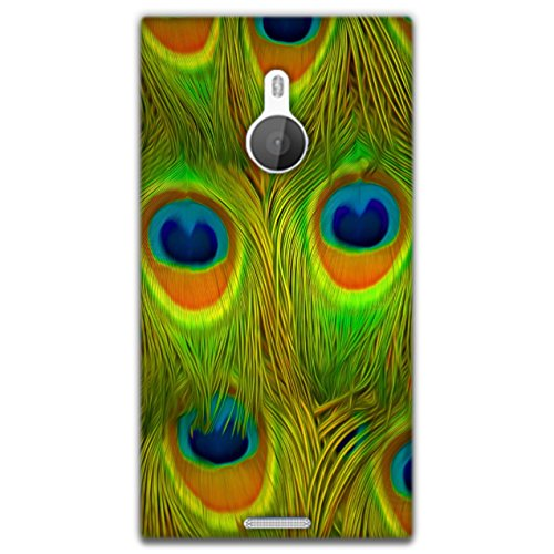 The Racoon Lean printed designer hard back mobile phone case cover for Nokia Lumia 1520. (Bright Fea)  available at amazon for Rs.99