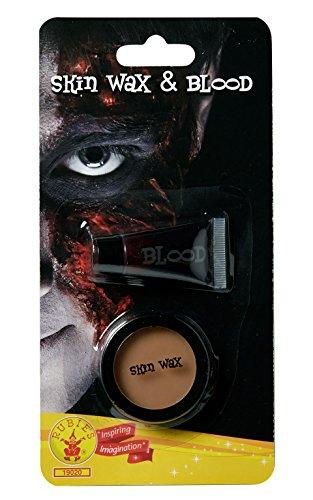 Rubies offizielles Hautwachs- und Blut-, Halloween-Make-up, Kostüm für Erwachsene - Einheitsgröße