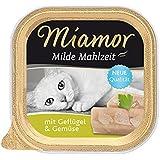 Miamor Milde Mahlzeit Geflügel & Gemüse, 16er Pack (16 x 100 g)
