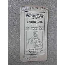 Michelin Map of the British Isles No 6: Glasgow - Edinburgh