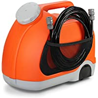 Cartrend 80320 Mobile cleaning station 15 liters, pressure cleaner 3/9 bar, portable, rolling, 12 V - ukpricecomparsion.eu