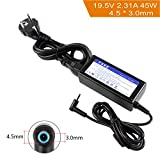 FSKE Alimentation pour Ordinateur Portable HP 19.5V 2.31A 45W Chargeur Adaptateur...