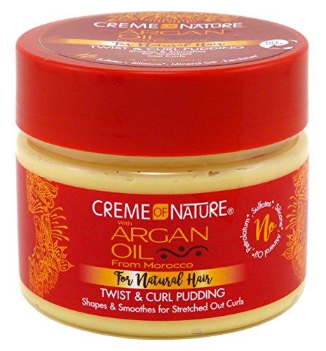 Creme of Nature Crème Coiffante pour Boucles Argan Pudding