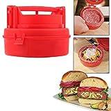Stuffed Burger Press Pizza Hamburger Grill Patty Maker