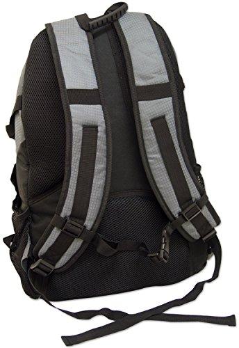Adtrek - Rucksack für Camping/Wandern/Reisen - 35 Liter Grau