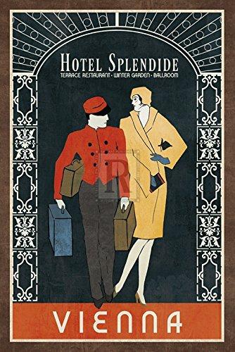 Collection Caprice - Grand Hotel Vienna Artistica di Stampa (40,64 x 60,96 cm)